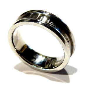 Bijou pour homme bague anneau Lover Forever acier stainless Steel taille 66