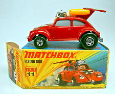 "Matchbox SF Nr. 11B Flying Bug rotmetallic top in ""J"" Box"