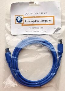 Blue USB 3.0 Male to USB 3.0 Type B Male Printer Data Cable, Extension Cord 1.8m