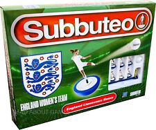 WOMEN'S SUBBUTEO ENGLAND Football Team Set Soccer Board Game Toy Family Ladies