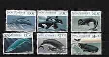 NZ SG1491/6, 1988 WHALES SET FINE USED