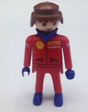 PLAYMOBIL Figure Shell Car Mechanic Pit Crew Race Car Driver