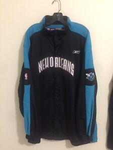 NBA Reebok New Orleans Hornets Shooting Jacket 2XL
