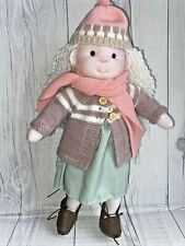 """Waldorf Doll 12"""" With Clothes Steiner Doll Soft Play Textile Handmade"""