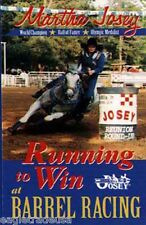 Martha Josey's Running to Win at Barrel Racing DVD -  Brand New