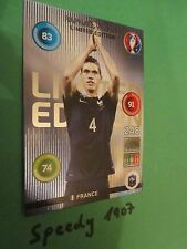 Panini Adrenalyn Euro 2016 Limited Edition Raphael Varane France Frankreich