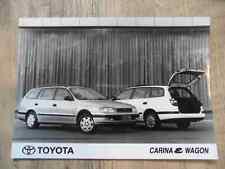 Foto Fotografie photo photograph TOYOTA Carina & Wagon SR517