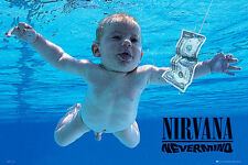 NIRVANA NEVERMIND 91.5 X 61CM POSTER NEW OFFICIAL MERCHANDISE