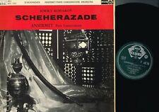 SCHEHERAZADE Paris Conservatoire ANSERMET LP Vinyl Decca ACL 153 1962 UK @VG+