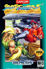 ## SEGA Mega Drive - Street Fighter 2 - TOP / Genesis Spiel / US-Import ##