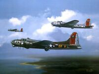 B17G FLYING FORTRESS LITTLE MISS MISCHIEF BEAUTIFUL PRINT PICTURE PAINTING