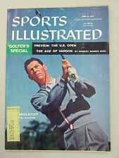 SPORTS ILLUSTRATED 1957 JUNE 10 GOLFERS SPECIAL US OPEN CARY MIDDLECOFF GOLF