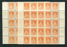 Nauru 1937 Couronnement 2D... 112 timbres menthe inutilisées... sg41... CV 168 £