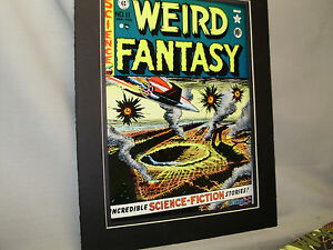 Weird Fantasy #11 Comic Book Poster Comic From NYC Comic Con 1968