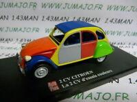 2CVAP56G voiture 1/43 ELIGOR Autoplus CITROËN 2CV n°18 : essais couleurs