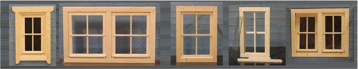 Gartenhausfenster