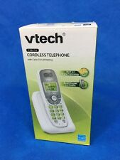 VTech CS6114 DECT 6.0 Cordless Phone with Caller ID/Call Waiting, White/Grey