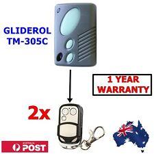 2 x Gliderol TM305C GRD2000 GTS2000 Garage/Gate Door Remote Control