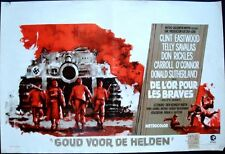 KELLY'S HEROES Belgian movie poster CLINT EASTWOOD DON RICKLES RAY ELSEVIERS