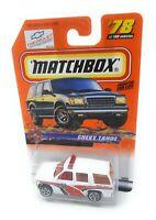 Matchbox MBX Superfast 1999 No 78 Chevrolet Tahoe Emergency USA exlusiv Modell