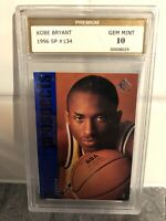 1996 Upper Deck SP Kobe Bryant #134 Rookie RC Lakers Gem Mint 10 PSA Crossover?