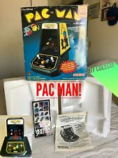 Coleco PAC MAN Vintage (1981) Electronic Tabletop Video Game *Box*Foam*Instruc.