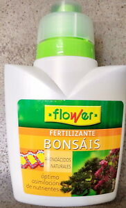 BONSAI Liquid Fertilizer +NPK3-6-6 Spanish high quality concentrate 300ml FLOWER