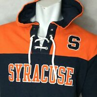 Champion Syracuse Orange Hoodie Hooded Sweatshirt Sz S Blue Pullover NCCA