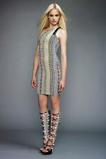 New Versace Resort 2011 Dot Print Shift Dress 40 uk 8