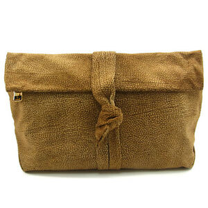 Borbonese Clutch bag Second bag Woman Authentic Used E317
