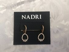 **NADRI*GOLD*PLATED*DROP*EARRINGS*GORGEOUS**NEW****From*Nordstrom*Rack****