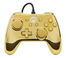 Power A Nintendo Switch Mario Wired Controller - Gold Chrome (1506373-01)™
