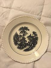 Vintage England Adams Monastary Town Scene Medium Fine China Plate Dish