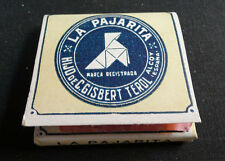 ANTIQUE CIGARETTE ROLLING PAPER LA PAJARITA EARLY 1900 TOBACCIANA COLLECTIBLE 15