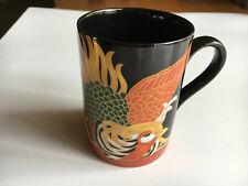 Vintage Fitz & Floyd Coffee Mug Faisan D'Or 215 Porcelain Made in J 00006000 apan