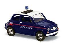 """Busch 48728 HO (1/87): Fiat 500 """"Carabinieri"""""""