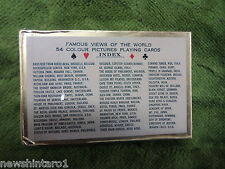 #BB. SEALED PACK OF FAMOUS VIEWS OF THE WORLD  PLAYING CARDS