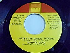 Marvin Gaye After The Dance / Feel All My Love Inside 45 1976 Tamla Vinyl Record