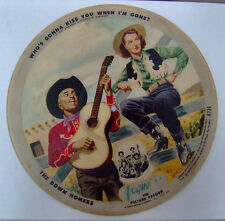 """VOGUE R736 THE DOWN HOMERS KENNY ROBERTS 10"""" PICTURE DISC RECORD"""