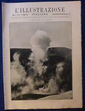 ILLUSTRAZIONE ITALIANA - N. 23/ 1923 - ERUZIONE DELL'ETNA