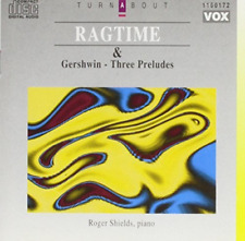 Joplin Scott - Gershwin-Ragtime - Three Preludes  CD NEW