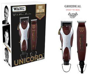 Wahl Professional #8242 5-Star Series Unicord Combo Magic Clip & Edger Clipper