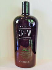 American Crew 3 in 1 Tea Tree Shampoo - 33.8oz Liter - New!