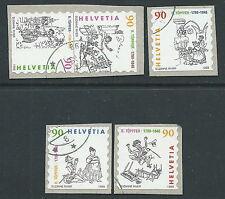 1999 SVIZZERA USATO RODOLPHE TOPFFER - CZ
