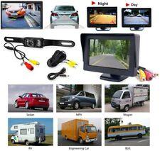"""Car Back up Rear View Reverse Parking Night Vision Camera 4.3"""" TFT LCD Monitor U"""