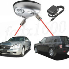 Dual Car Laser Sensor Garage Parking Assist Wall Stop Light Backup Warning 110V