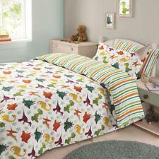 Ropa de cama de poliéster para niños de dinosaurios