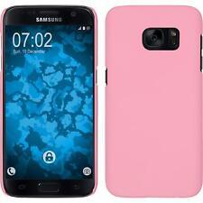 Samsung Galaxy J7 estuche hardcover goma Rosa protector de pantalla