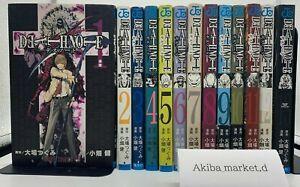 DEATH NOTE 【Japanese language】 Vol.1-13 Complete Full set Manga Comics