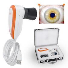 Pupilometer Iriscope Iris Analyzer Iridology camera pro Iris W/Software Eye Care